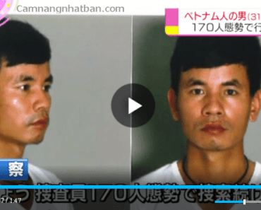 Cảnh sát Nhật truy nã người Việt đang bỏ trốn tại Nhật