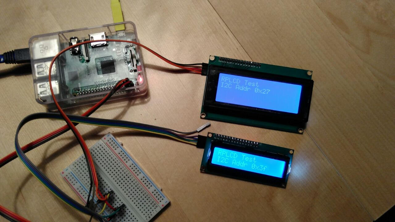 Dbrgn/RPLCD: A Raspberry Pi LCD Library For The
