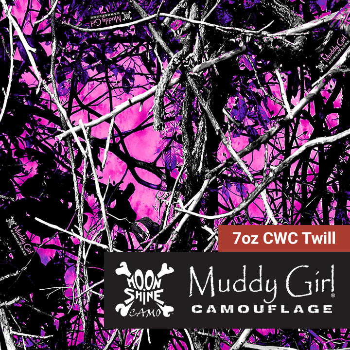 MUDDY GIRL CAMO CAMOUFLAGE PINK /& PURPLE WINDOW DRAPES