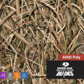 Mossy Oak Shadow Grass Blades 600D Poly