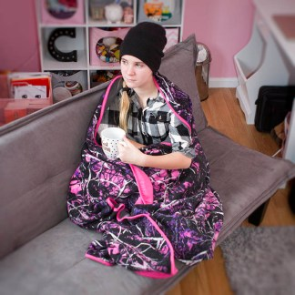 Fleece Blanket Girl