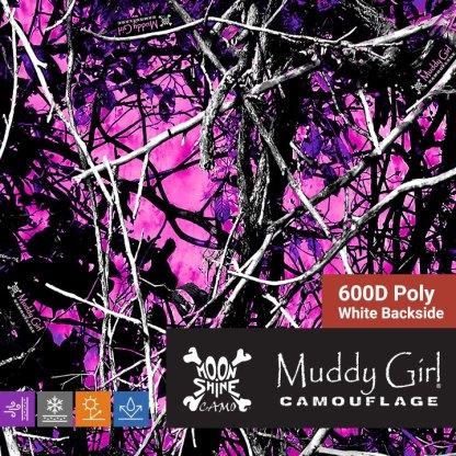 Muddy Girl 600D Poly Oxford Waterproof fabric