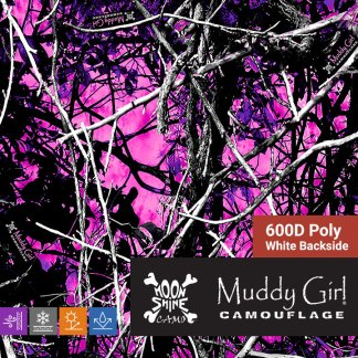 Muddy Girl 600D Poly Oxford Waterproof fabric