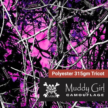 Muddy Girl Polyester Fabric