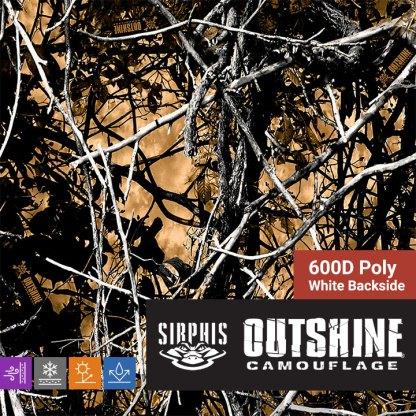 Moon Shine Camo Outshine - 600D Poly Fabric