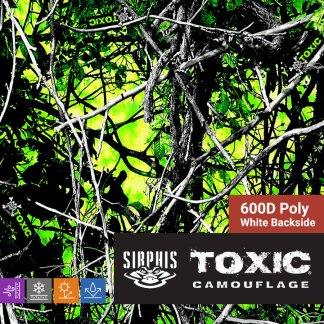 Moon Shine Camo Toxic - 600D Poly Fabric