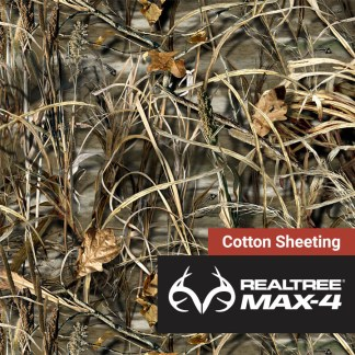 Realtree-Max-4-Cotton-Sheeting