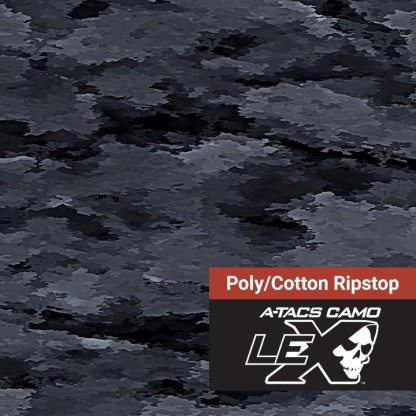 A-TACS LE-X PolyCotton Ripstop Fabric