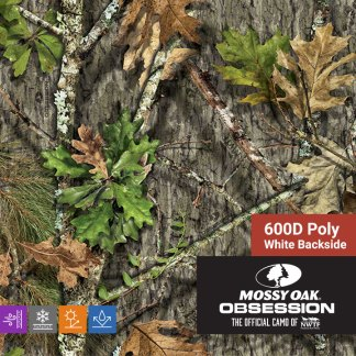 Mossy Oak Obsession NWTF - 600D Poly Fabric