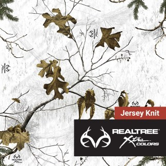 Realtree Xtra Colors - Snow - Jeresey Knit