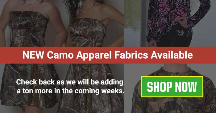 Camo Apparel Fabrics