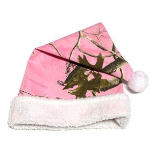 Pink Camo Christmas Hat