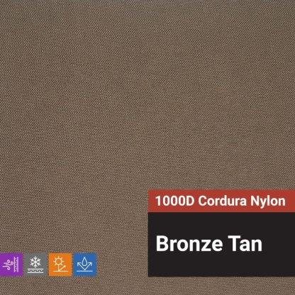 1000D Cordura Nylon Bronze Tan