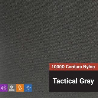 1000D Cordura Nylon - Tactical Gray