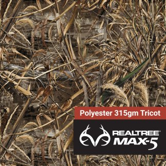Realtree Polyester Fabric