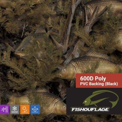 Fishouflage Carp - 600D Poly Fabric