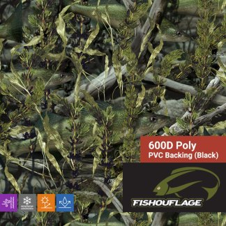 Fishouflage Walleye - 600D Poly Fabric