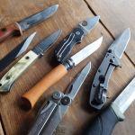 A-suke流「アウトドア ダンディズム」#04:ナイフの形状を勉強しよう