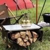 焚き火用テーブルの最適解!?ハングアウトのサイドテーブルに「ステンレストップ版」が登場!