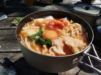 山フライパン ユニフレーム チゲ鍋