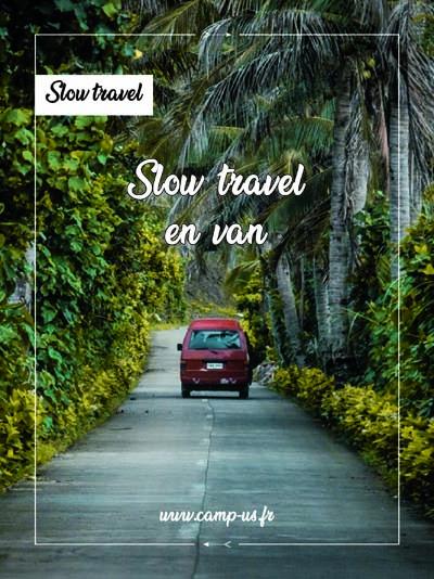 slow travel en van