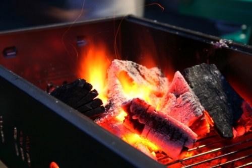 炭に火をつける方法