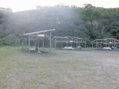 福泊キャンプ場 炊事場