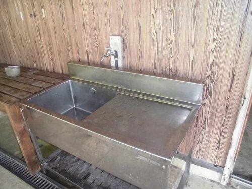 おおやキャンプ場 炊事場