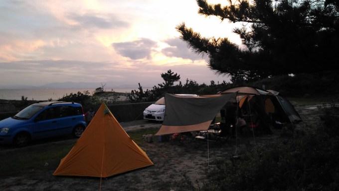 吹上浜キャンプ場