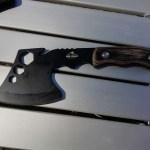 キャンプ用で薪割りをする為に購入した手斧をレビュー