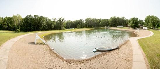 Lake Barbara Beach Area