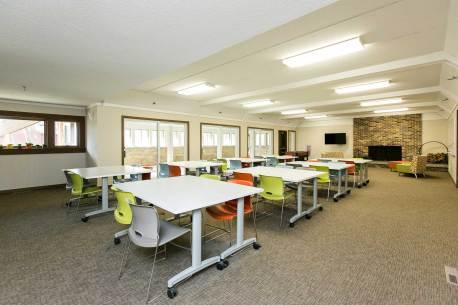 Troop Lounge at Edith Mayo Program Center