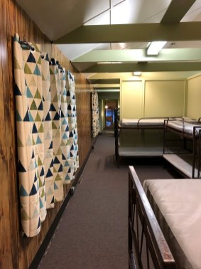 Upper Level Bunk Room at Camp Lockeslea