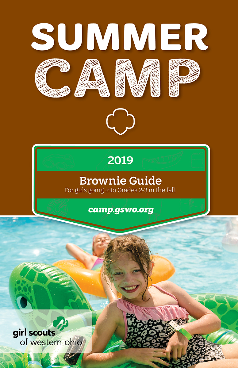 2019 Camp Guide Brownie cover
