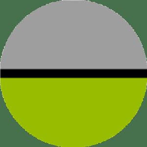 2 tone Green