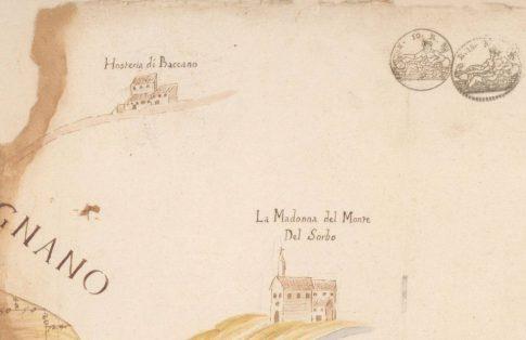 Mappa del Sorbo