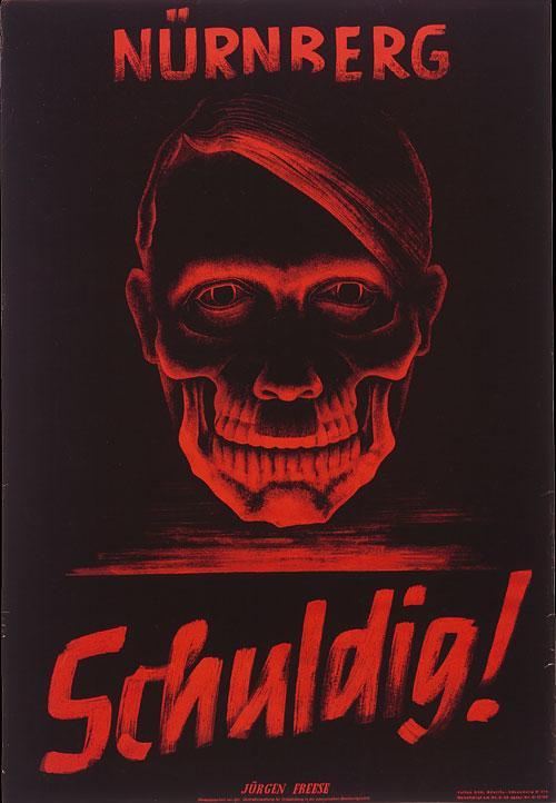 Affisch - Nürnberg Skyldig!