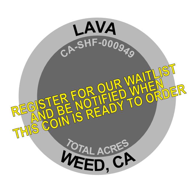 Lava Fire Challenge Coin
