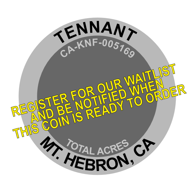 Tennant Fire Challenge Coin