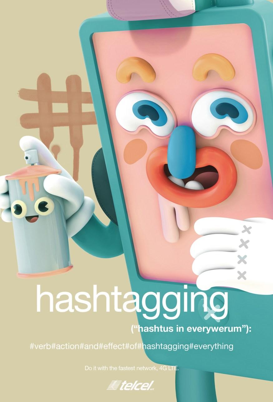 Telcel-hashtagging_cotw