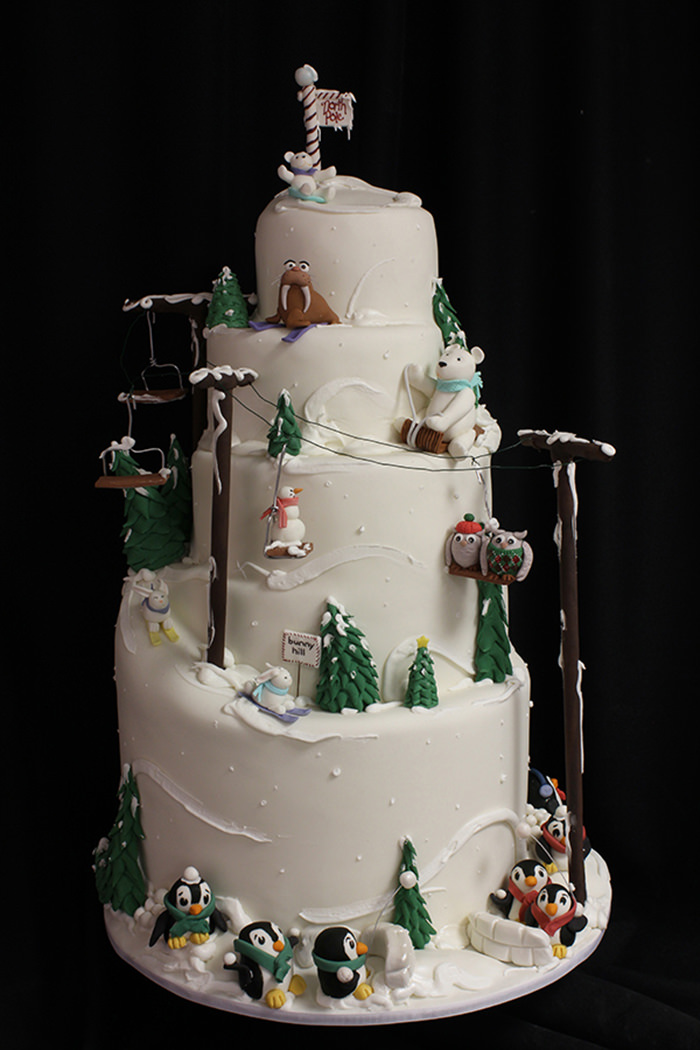 34-creative-christmas-cakes