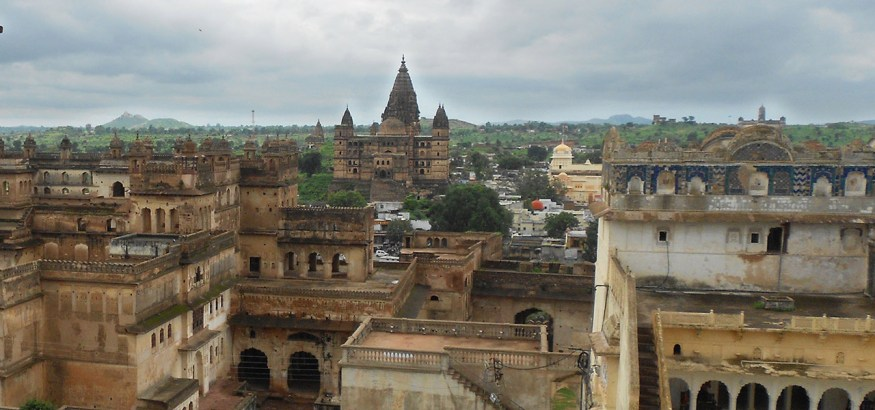 chaturbhauj temple orchha MP