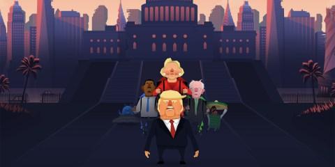 Jrump 2016 US elections