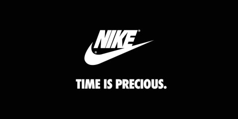 Nike Time is Precious Ad Campaign