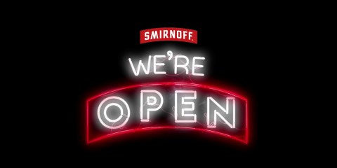 Smirnoff - We Are Open