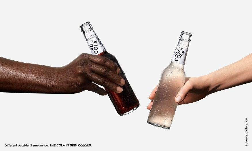 Ali cola different skin colors