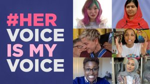 #HerVoiceIsMyVoice YouTube celebrates Women's Day