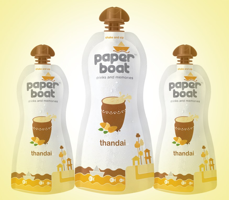 paper boat drinks thandai