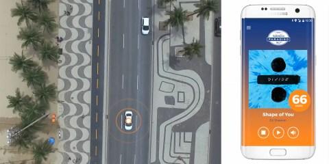Sound Penalty for over speeding in Rio de Janeiro, Brazil