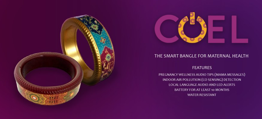 Coel Smart Bangle for Maternal Wellness